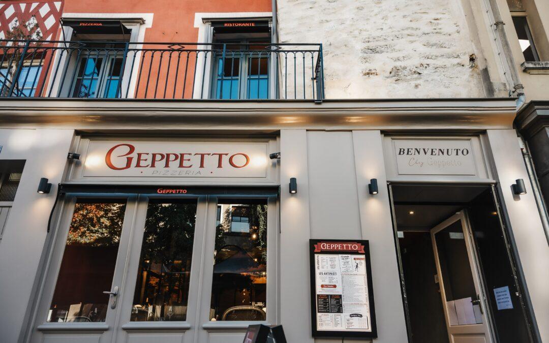 Giuseppe dit Geppetto!